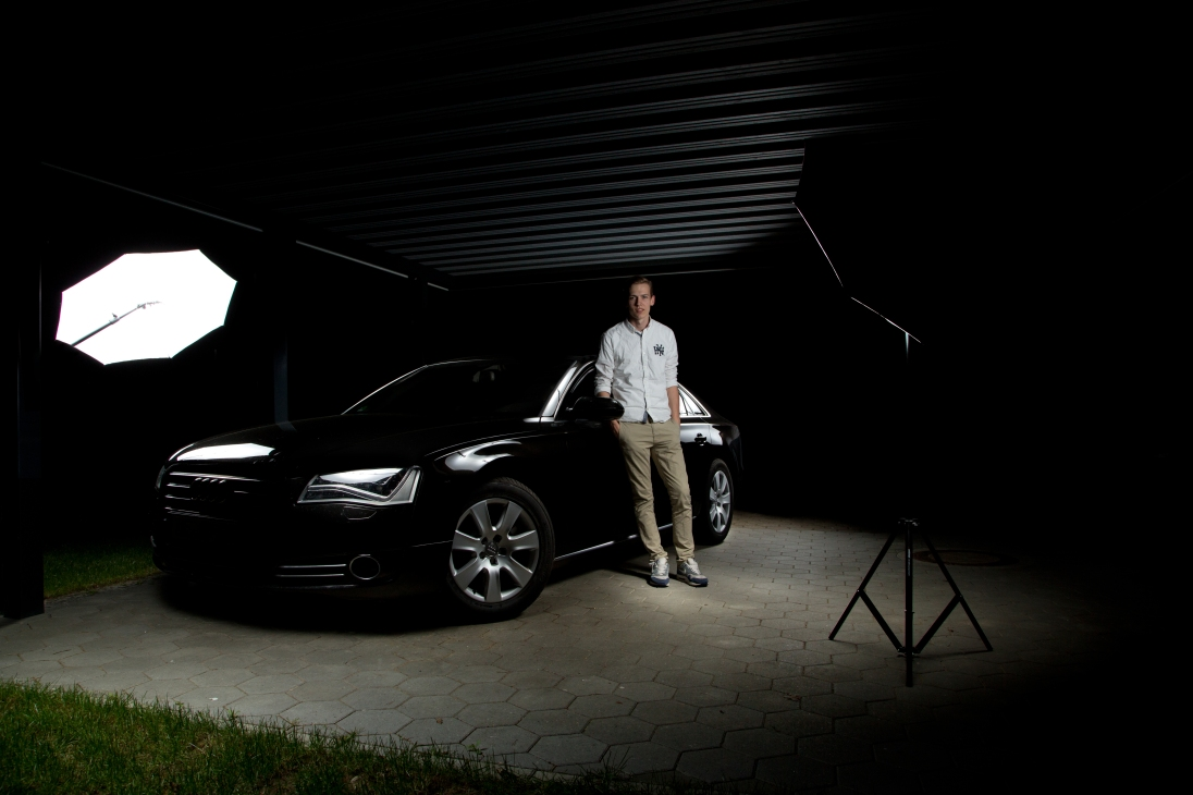 Audi A8 Bild 2 mit Harm